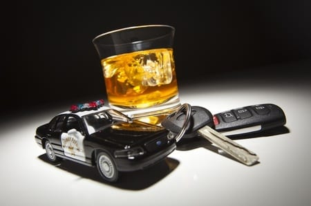 Driving under the influence checkpoints
